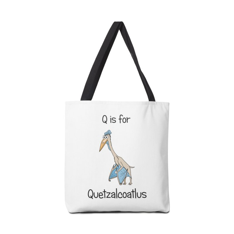 S is for Science - Quetzalcoatlus Accessories Bag by The Art of Adz