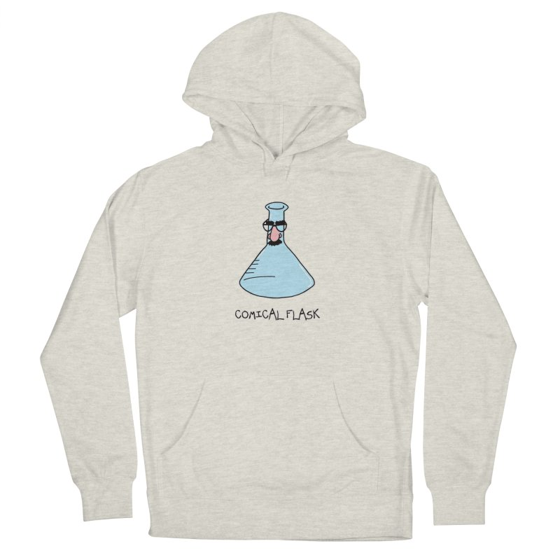 For Science - Comical Flask in Women's Pullover Hoody Heather Oatmeal by The Art of Adz