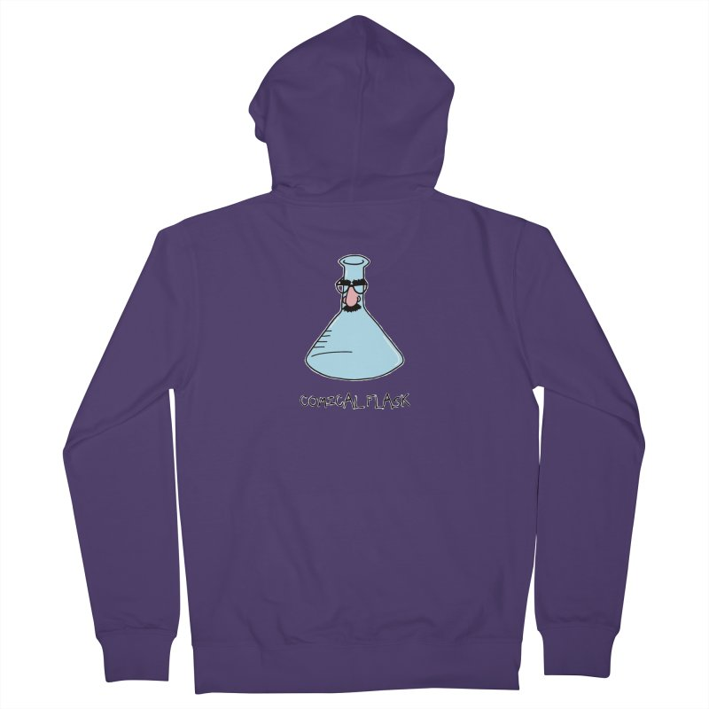 For Science - Comical Flask Women's Zip-Up Hoody by The Art of Adz
