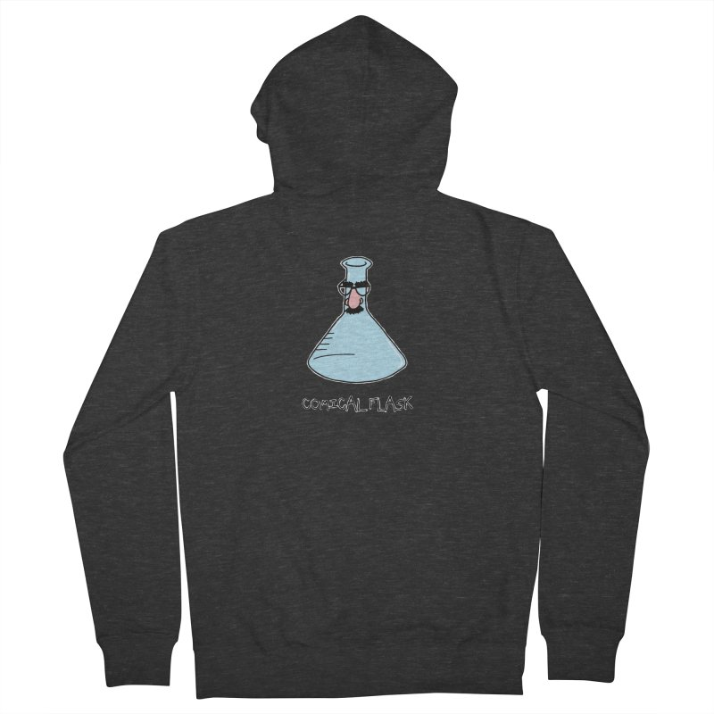 For Science - Comical Flask Men's Zip-Up Hoody by The Art of Adz