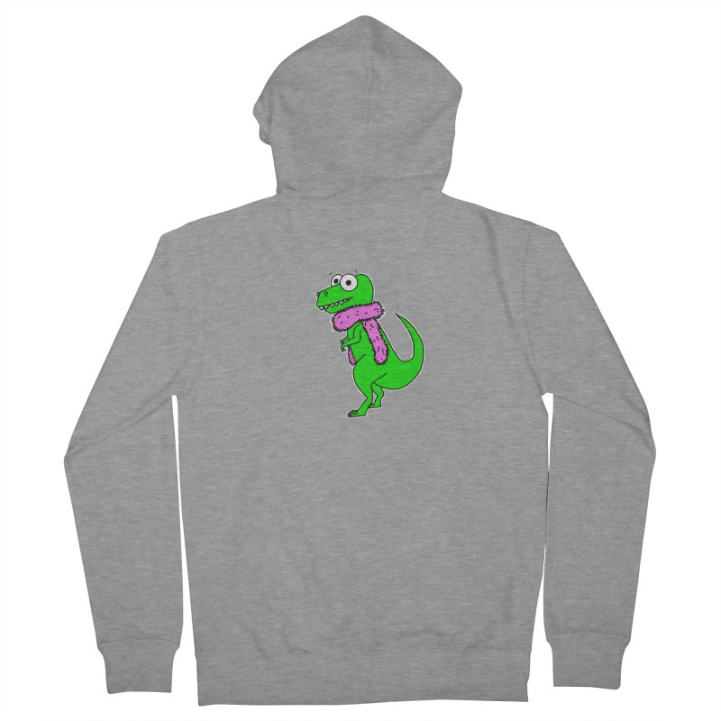 For Science - T-Rex Had Feathers Women's Zip-Up Hoody by The Art of Adz