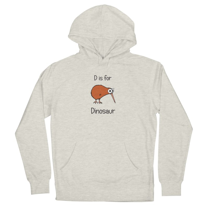 S is for Science - Dinosaur (kiwi) Women's Pullover Hoody by The Art of Adz