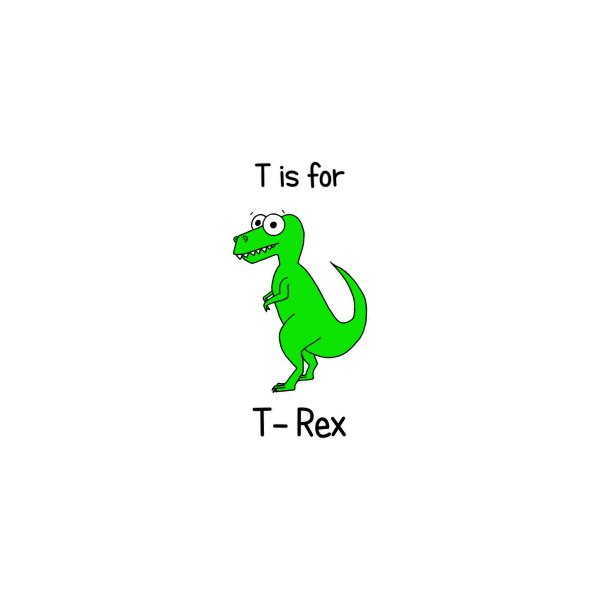 image for S is for Science - T-Rex