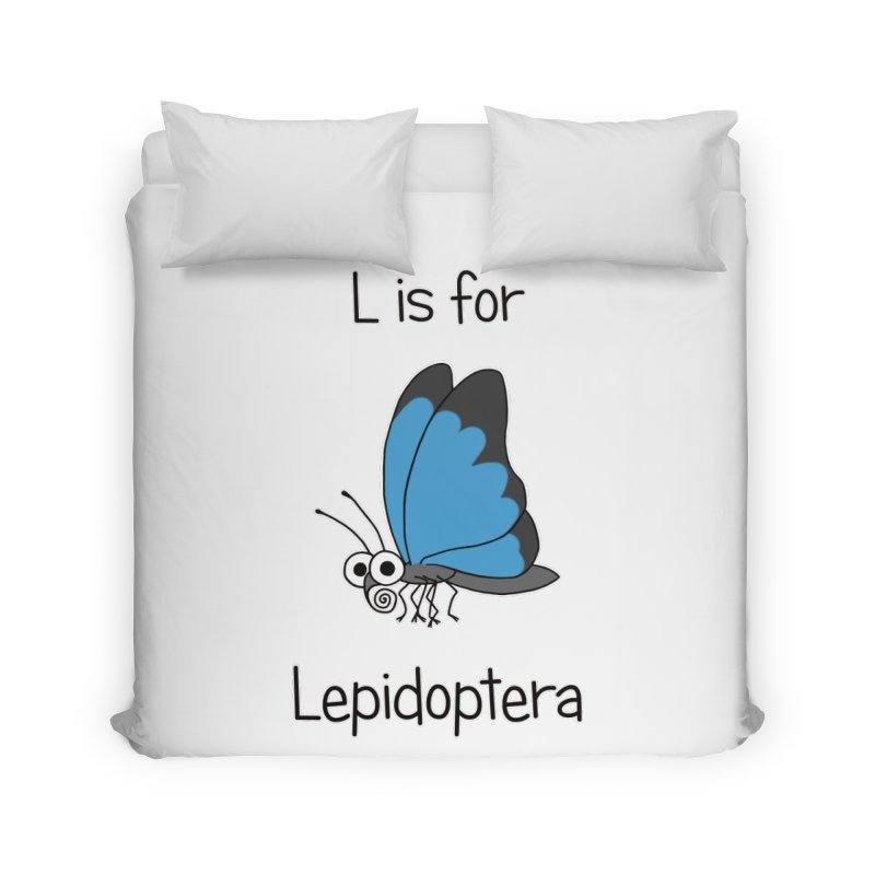 S is for Science - Lepidoptera Home Duvet by The Art of Adz