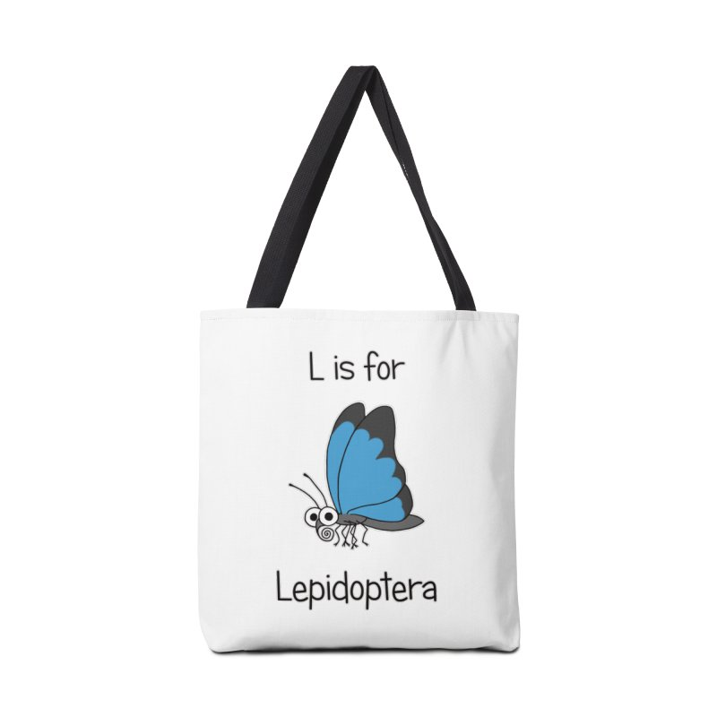 S is for Science - Lepidoptera Accessories Bag by The Art of Adz