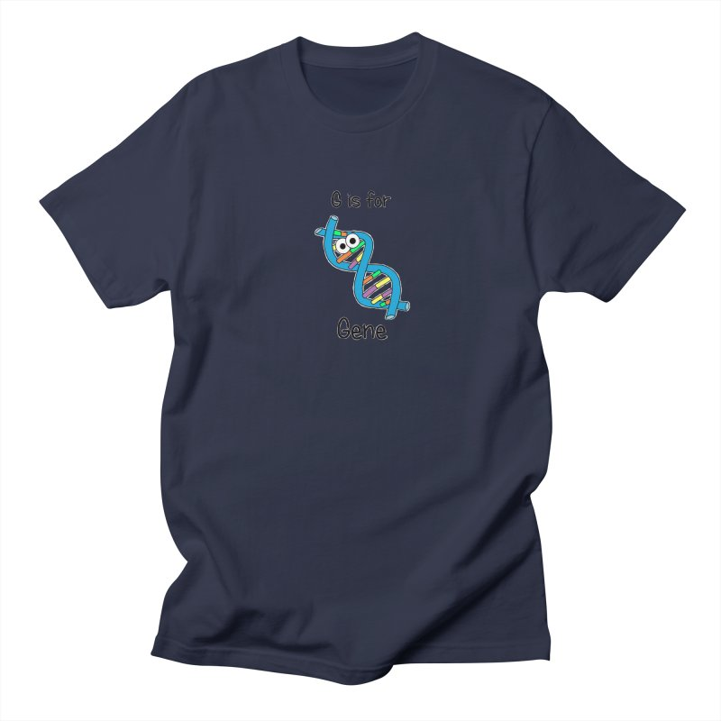 S is for Science - Gene Men's T-shirt by The Art of Adz