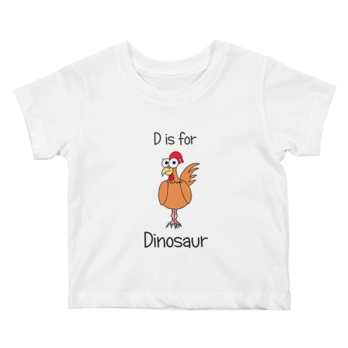 image for S is for Science - Dinosaur (chicken)