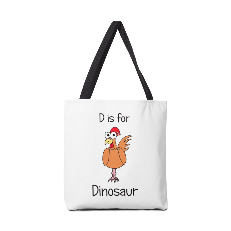 S is for Science - Dinosaur (chicken) Accessories Bag by The Art of Adz