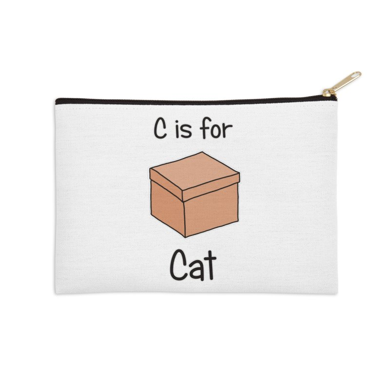 S is for Science - Cat Accessories Zip Pouch by The Art of Adz
