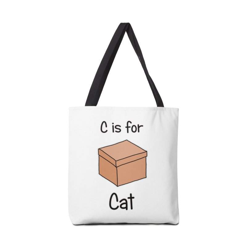 S is for Science - Cat Accessories Bag by The Art of Adz