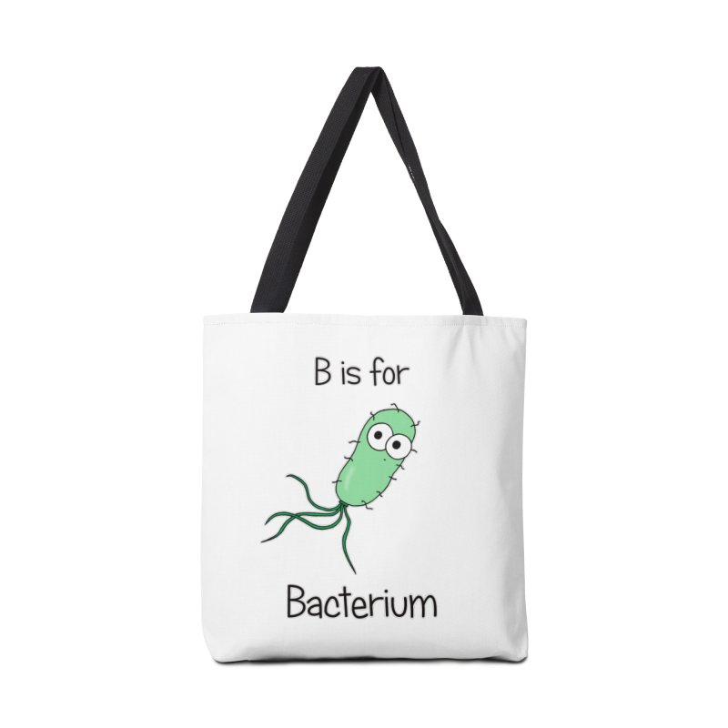 S is for Science - Bacterium Accessories Bag by The Art of Adz
