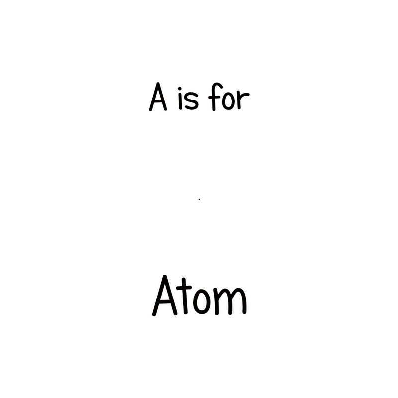 S is for Science - Atom Men's Tank by Adrienne Body