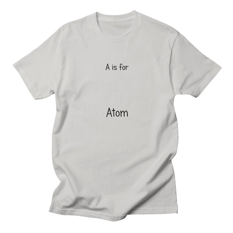 S is for Science - Atom Men's T-shirt by The Art of Adz