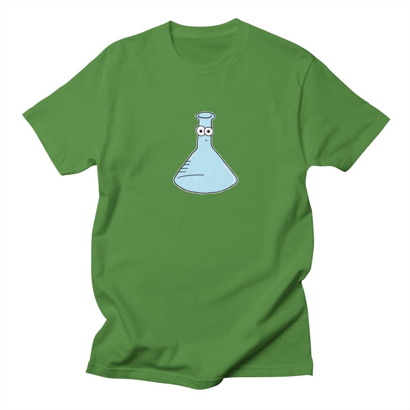 For Science - Cute Flask Men's T-shirt by The Art of Adz