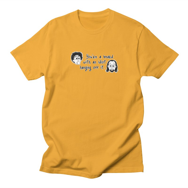 Black Books - You're a Beard Men's T-shirt by The Art of Adz