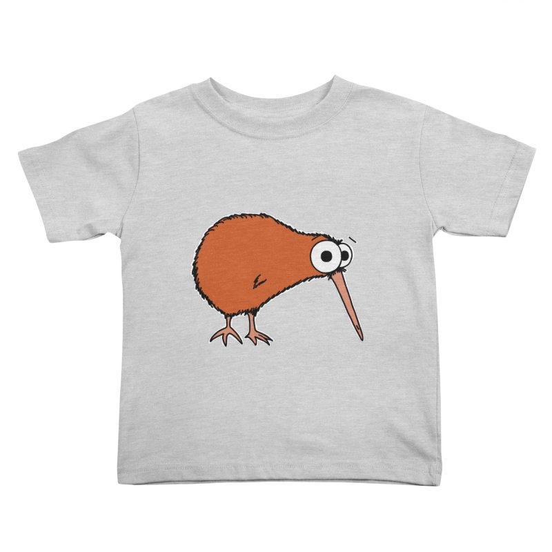 It's A Kiwi Kids Toddler T-Shirt by The Art of Adz