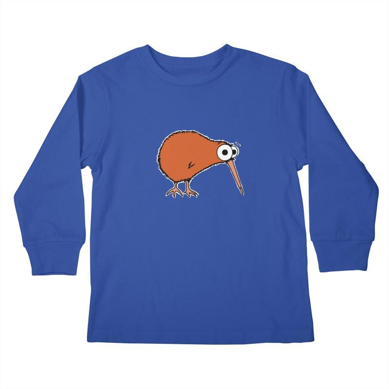 It's A Kiwi Kids Longsleeve T-Shirt by The Art of Adz