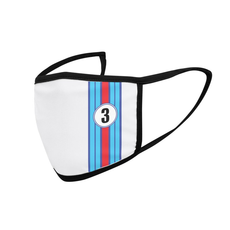 Face Mask Martini Racing Accessories Face Mask by The ART of CAR