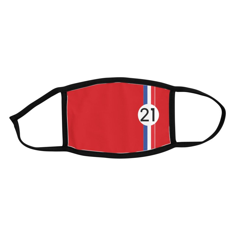 """Vintage 1967 """"330"""" Racing Face Mask Accessories Face Mask by The ART of CAR"""