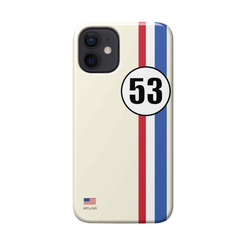 Herbie #53 Phone Case Accessories Phone Case by The ART of CAR