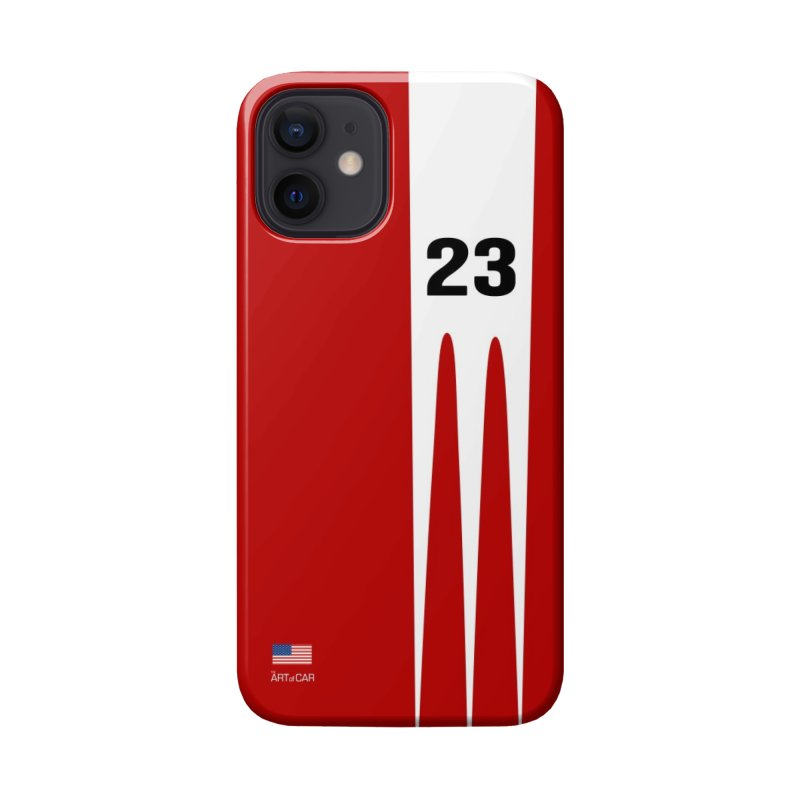 """Vintage 1970's Racing """"917"""" Accessories Phone Case by The ART of CAR"""