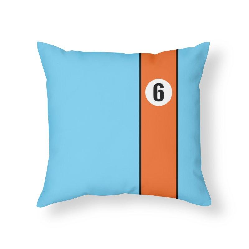 1969 GT40 Throw Pillow Home Throw Pillow by The ART of CAR