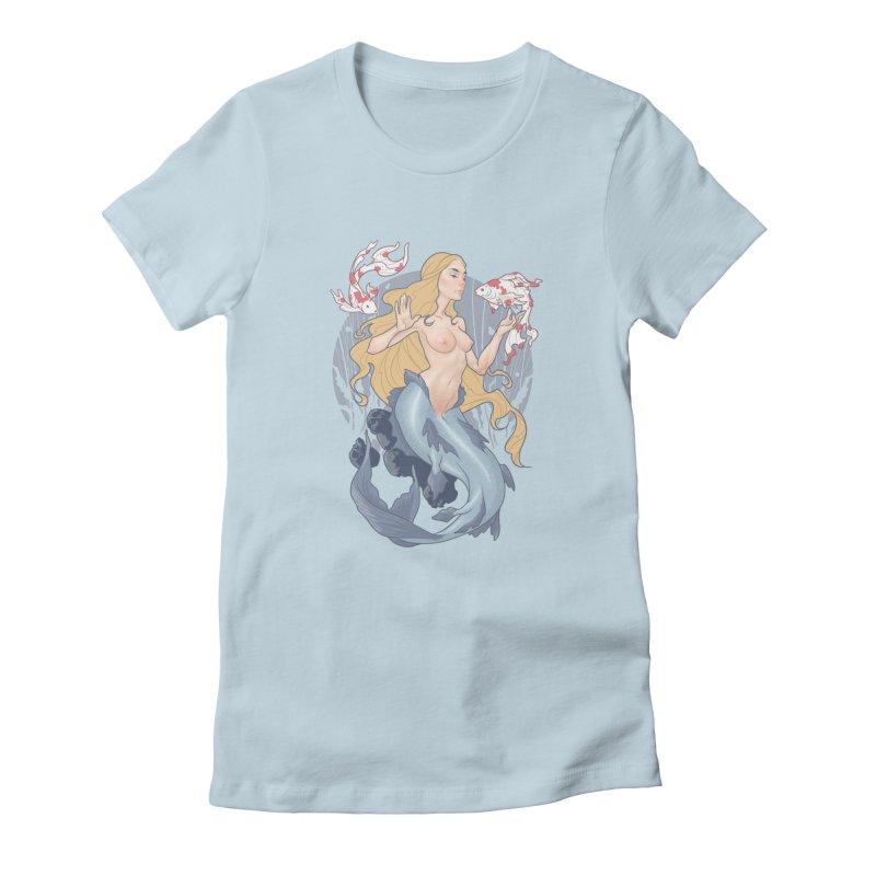 Mermaid Women's T-Shirt by The Art of Lucas Silva