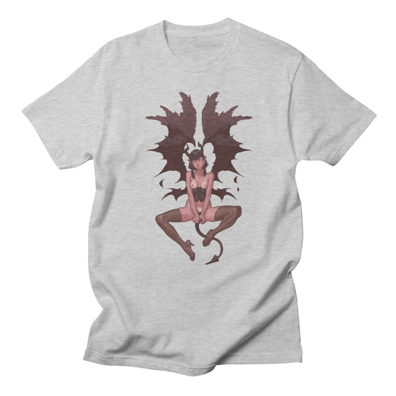 Succubus Women's Regular Unisex T-Shirt by The Art of Lucas Silva