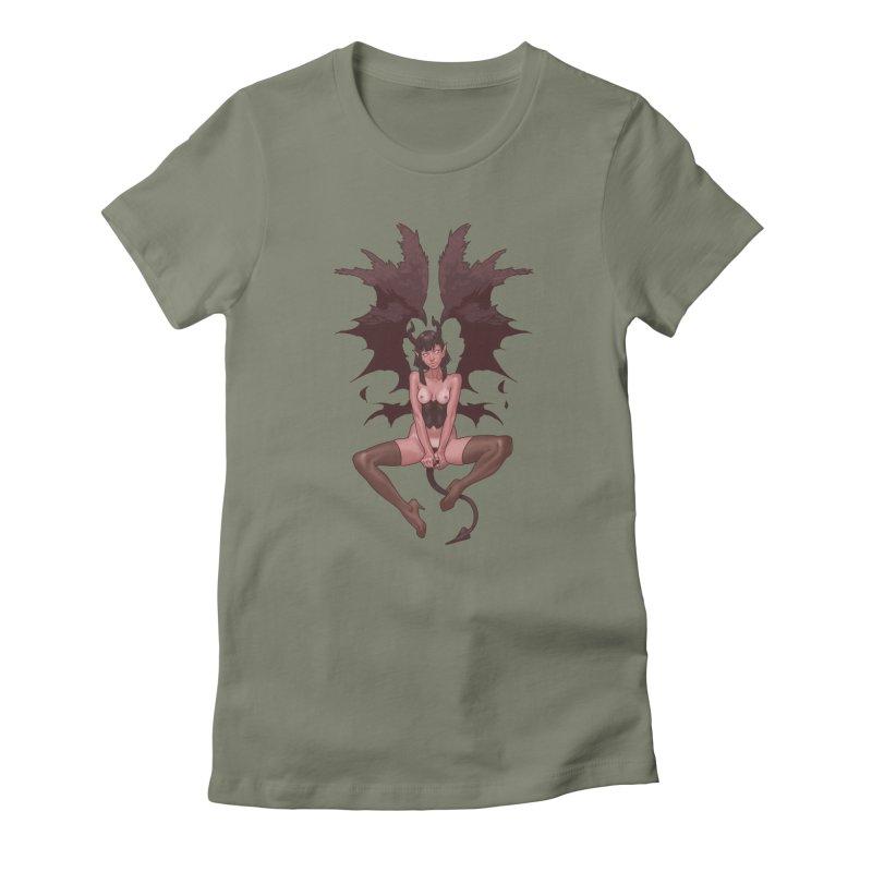 Succubus Women's T-Shirt by The Art of Lucas Silva