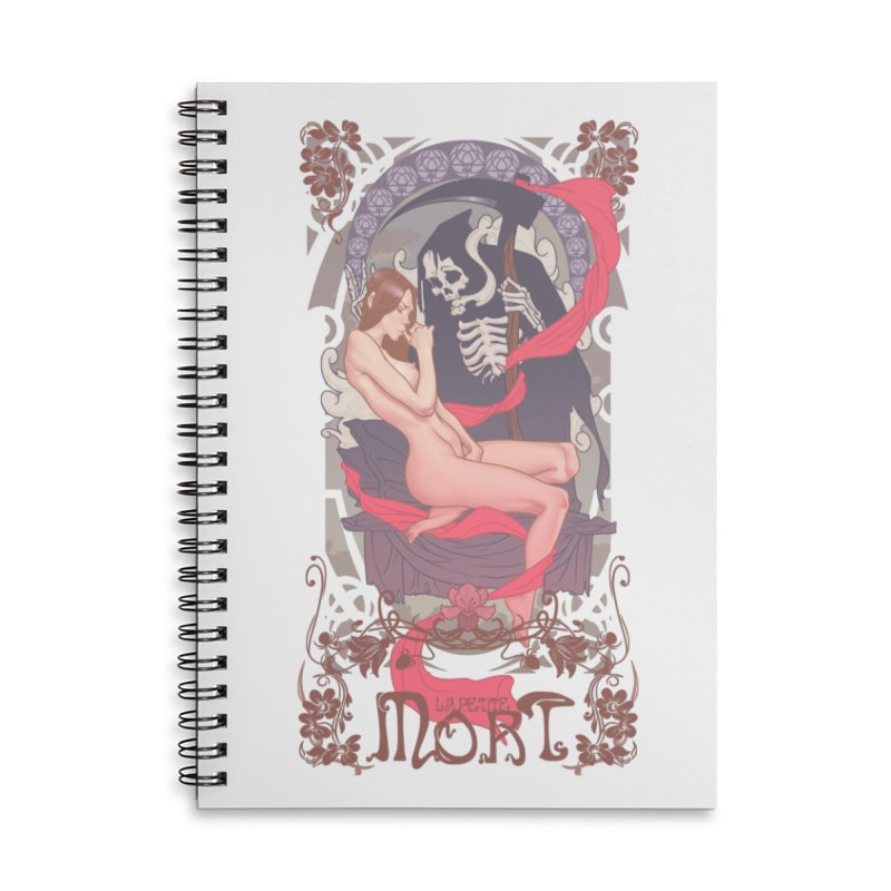 Little Death Accessories Lined Spiral Notebook by The Art of Lucas Silva