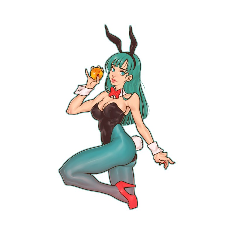 Bulma Accessories Sticker by The Art of Lucas Silva