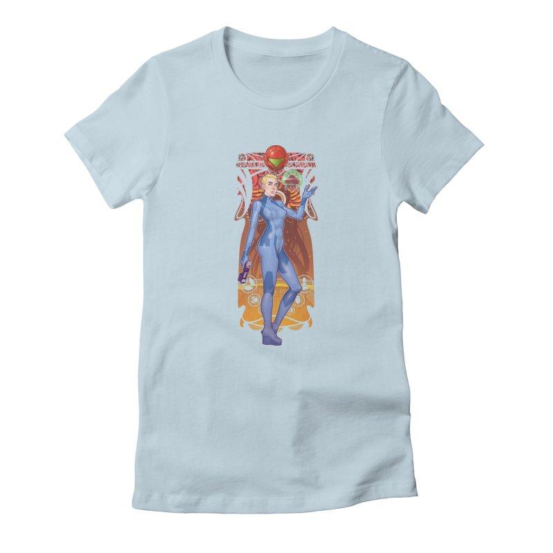 Samus Aran Women's T-Shirt by The Art of Lucas Silva