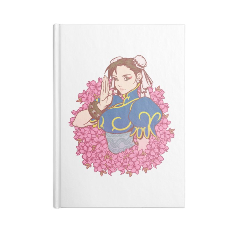 Chun-Li Accessories Notebook by The Art of Lucas Silva