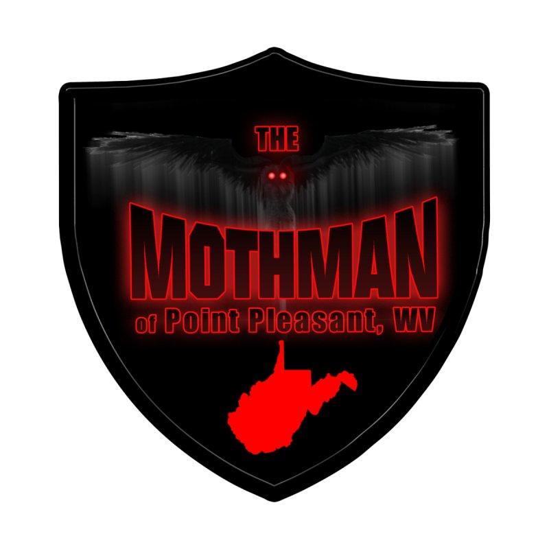 Mothman Pt Pleasant Blk Shield Women's Longsleeve T-Shirt by theartofron's Artist Shop