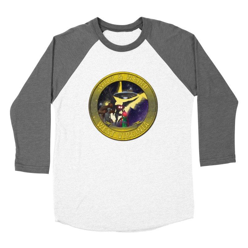 Wild & Weird WV Shield (stay wild stay weird) Women's Longsleeve T-Shirt by theartofron's Artist Shop
