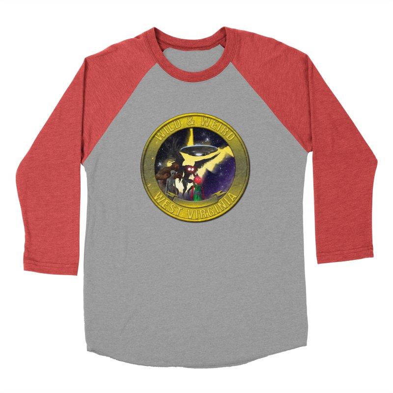 Wild & Weird Shield (Always wild Always Weird) Men's Longsleeve T-Shirt by theartofron's Artist Shop