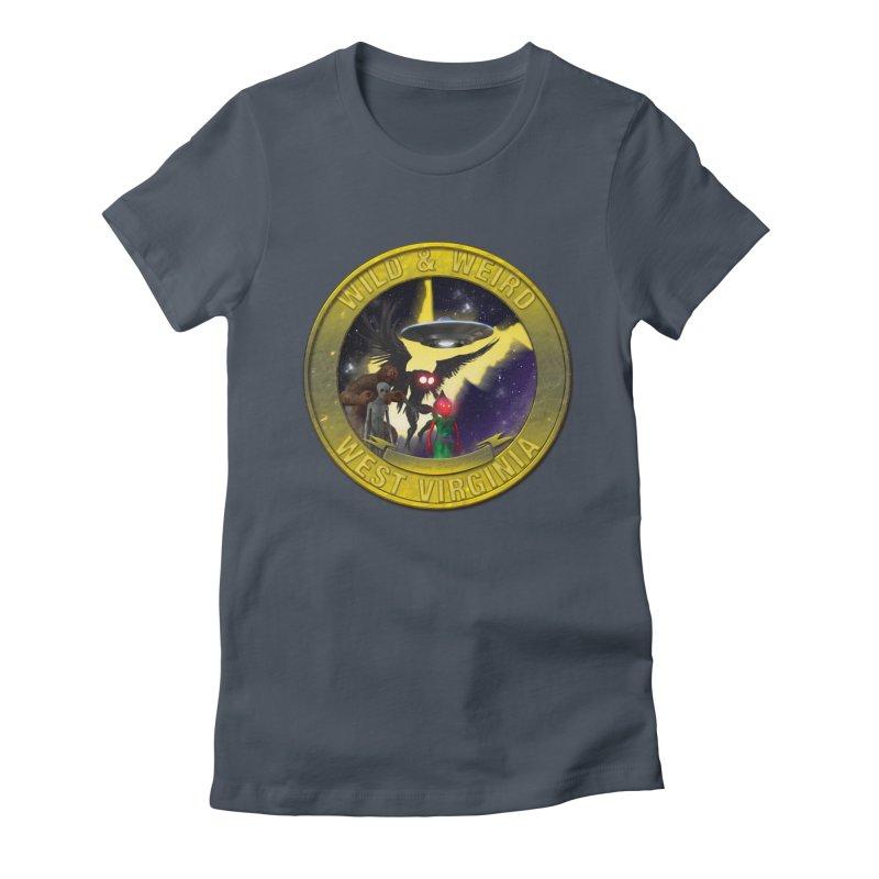 Wild & Weird Shield (Always wild Always Weird) Women's T-Shirt by theartofron's Artist Shop