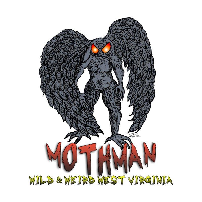 Mothman (Wild&WeirdWV) Men's Longsleeve T-Shirt by theartofron's Artist Shop