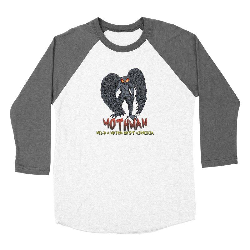 Mothman (Wild&WeirdWV) Women's Longsleeve T-Shirt by theartofron's Artist Shop
