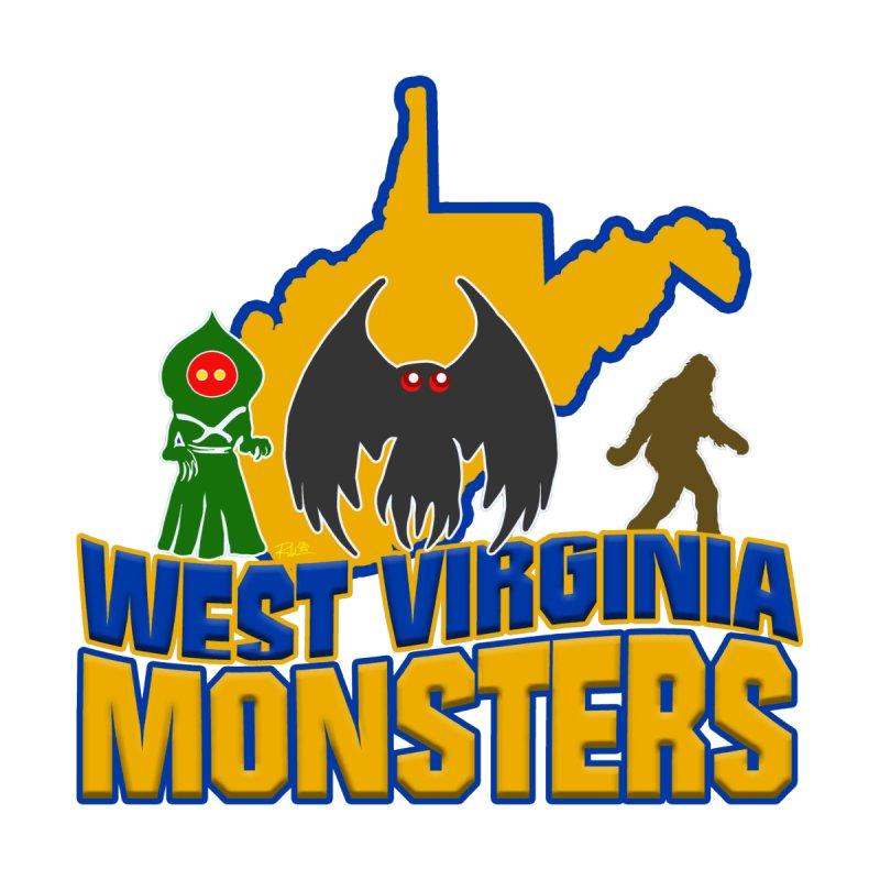West Virginia Monsters Men's Longsleeve T-Shirt by theartofron's Artist Shop