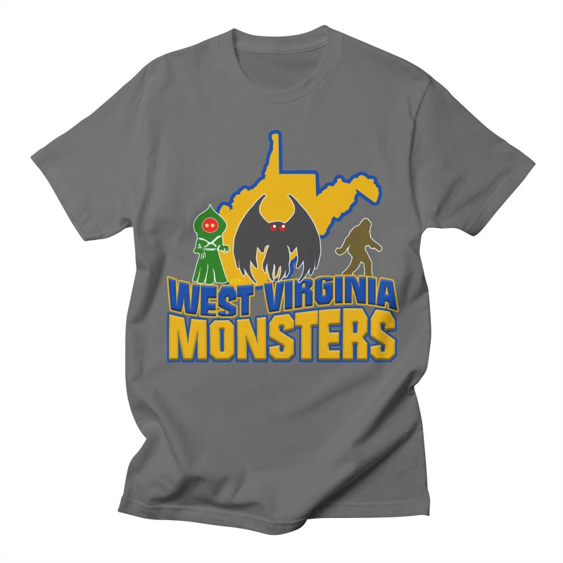 West Virginia Monsters Men's T-Shirt by theartofron's Artist Shop