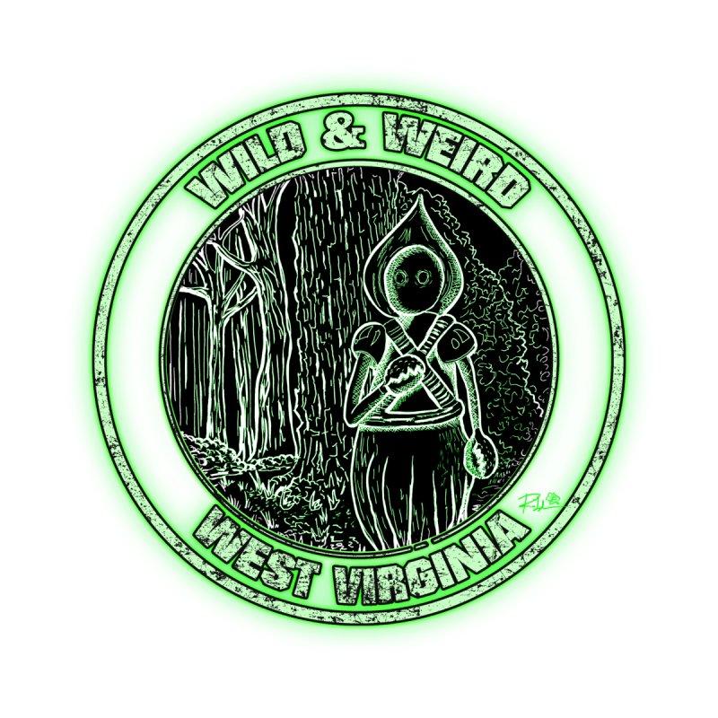 Braxton County Monster WWWV Seal Men's T-Shirt by theartofron's Artist Shop