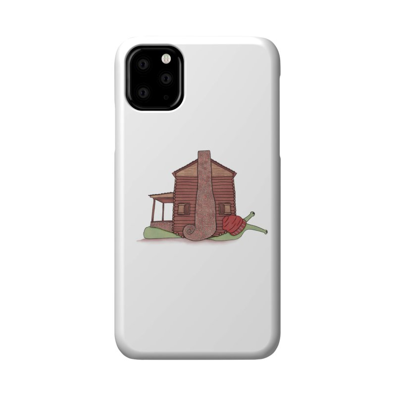 Cabin Snail Accessories Phone Case by The Art of Rosemary