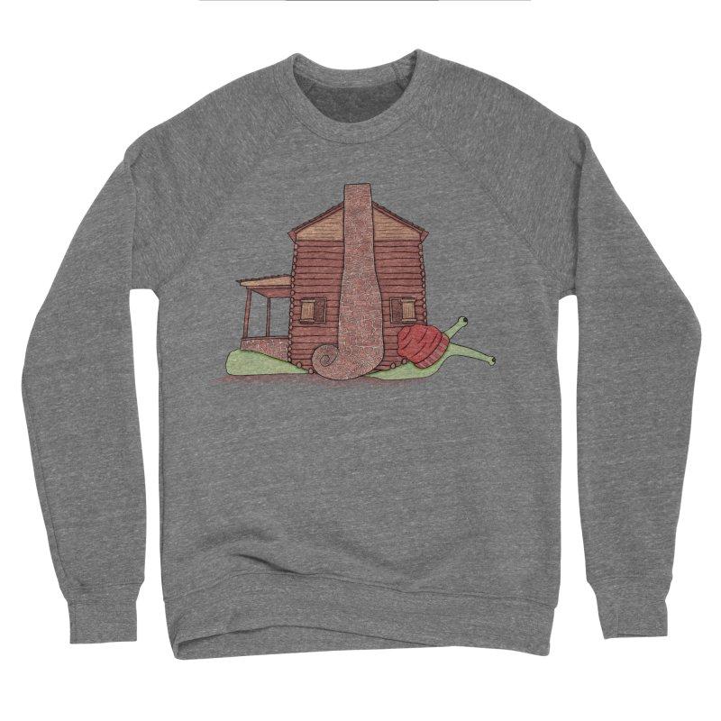 Cabin Snail Women's Sponge Fleece Sweatshirt by The Art of Rosemary