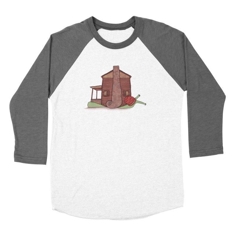 Cabin Snail Women's Longsleeve T-Shirt by The Art of Rosemary