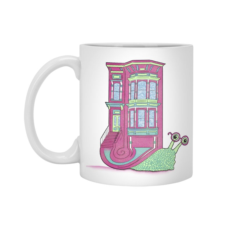 Townhouse Snail Accessories Mug by The Art of Rosemary