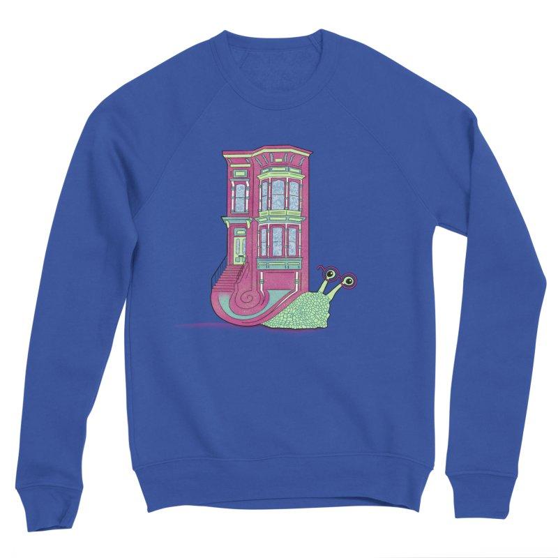 Townhouse Snail Women's Sponge Fleece Sweatshirt by The Art of Rosemary