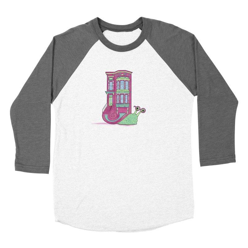 Townhouse Snail Women's Longsleeve T-Shirt by The Art of Rosemary