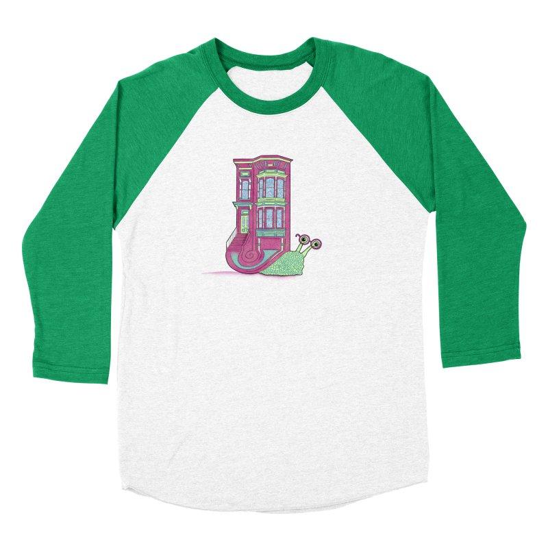 Townhouse Snail Men's Longsleeve T-Shirt by The Art of Rosemary