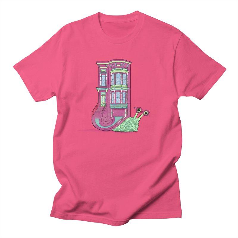 Townhouse Snail Women's Regular Unisex T-Shirt by The Art of Rosemary